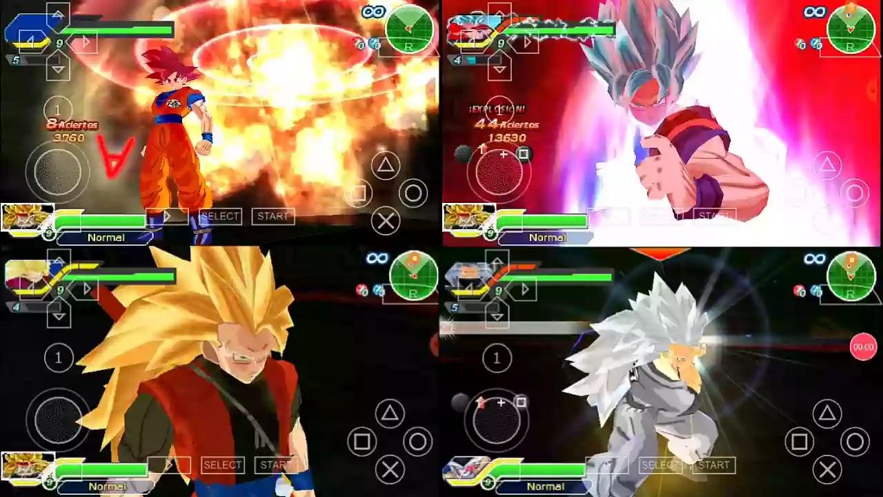 DBZ BT3 MOD CC Goku and Xeno Goku