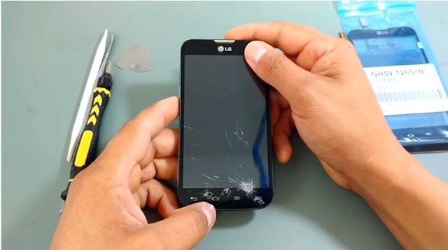 Aprenda Como desmontar os aparelhos LG L70 D325, D325f, L90 D405, D410, D410h.
