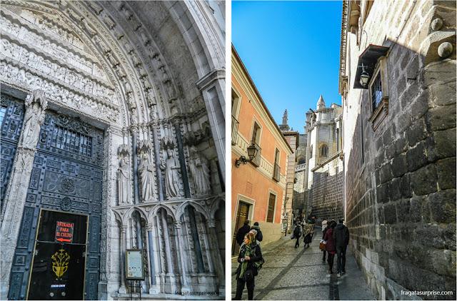 Entradas da Catedral de Toledo