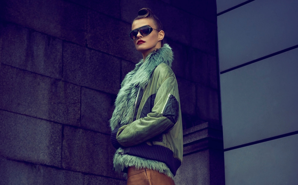 military-inspired womenswear: brogan loftus by james meakin for how to spend it 24th september 2014
