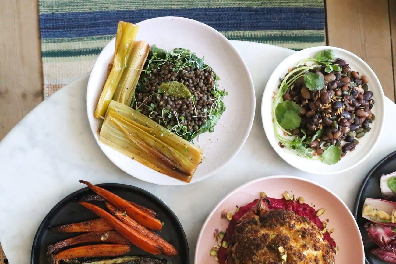 Method of work of Mademoiselle bean salad