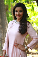 Priya Anand in simply Pink at an interview for movie KOOTATHIL ORUTHAN~  Exclusive celebrities galleries 009.jpg