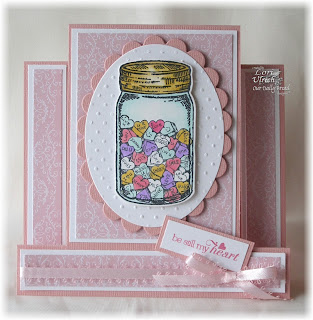 Stamps - Our Daily Bread Designs ODBD Custom Canning Jar Dies, Canning Jars, Canning Jar Fillers, To the Lovebirds