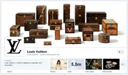 Louis Vutton launches new Facebook page