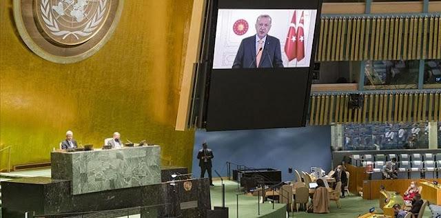Pidato Erdogan Terus Kritik Israel, Dubes Gilad Erdan Tinggalkan Aula PBB