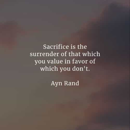 Sacrifice quotes about life that'll surely inspire you
