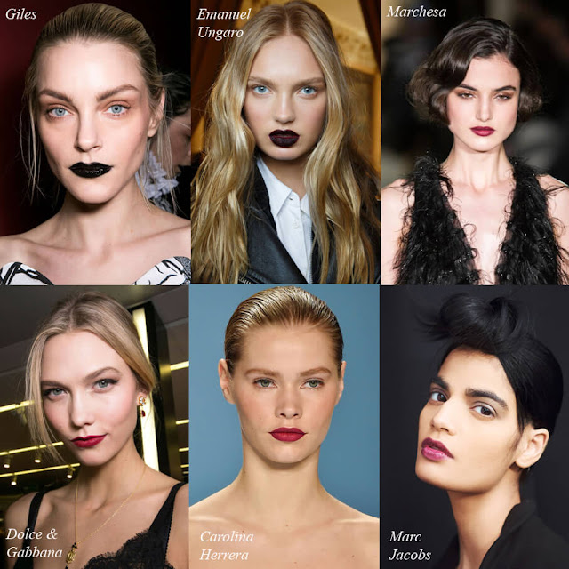 Giles, Ungaro, Marchesa, Dolche & Gabbana, Carolina Herrera, Marc Jacobs