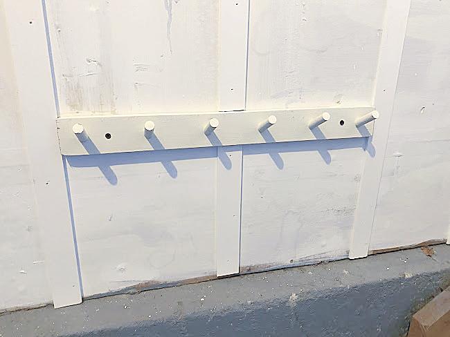 shoe rack pegs