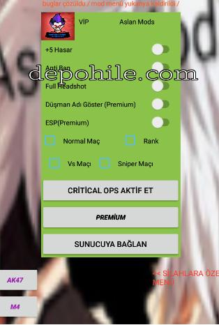 Critical Ops 1.27.0 Injector Headshot, Hasar Hile Menu Apk 2021