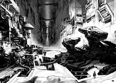 Ion Mud : de très vastes décors et une sombre immensité