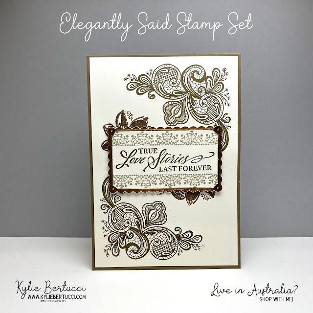 Elegantly Said Stamp Set | NEW PRODUCT Alert!!!