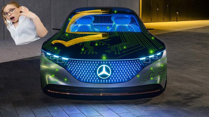 Mercedes: giant digital dashboard announced