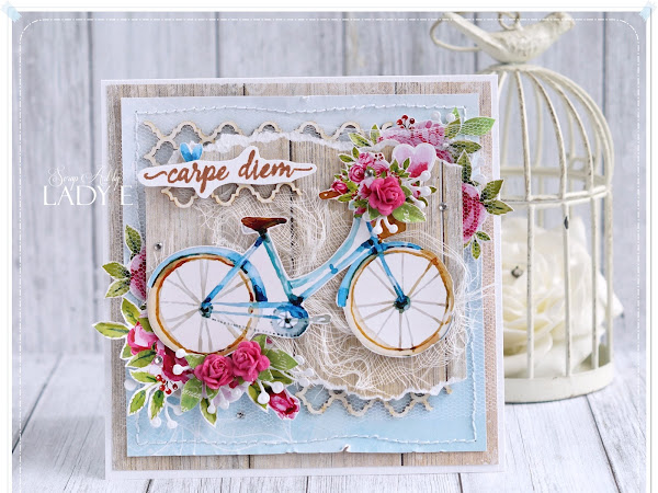 Card with Bike