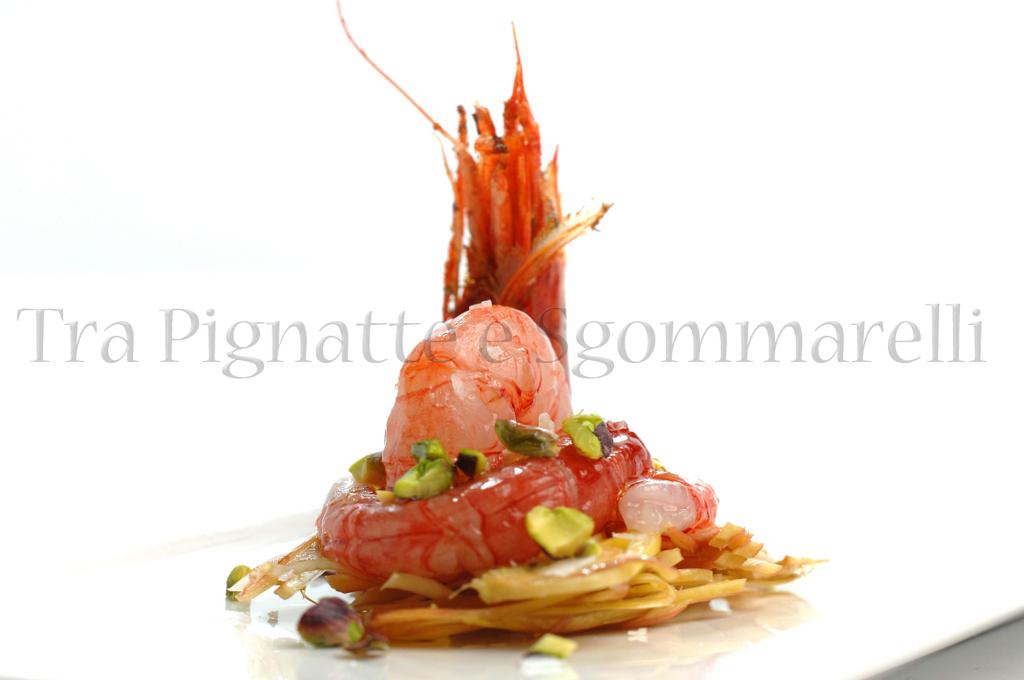 Tra pignatte e sgommarelli piccola insalata di gambero for Ricette gambero rosso