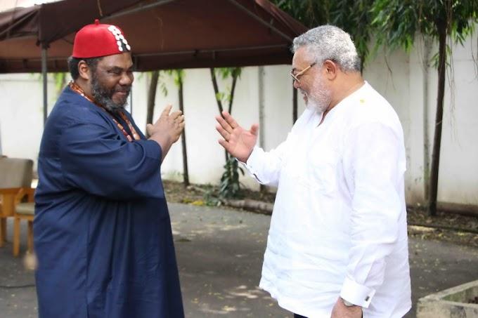 Akufo-Addo, Buhari divine intervention to fight corruption - Rawlings