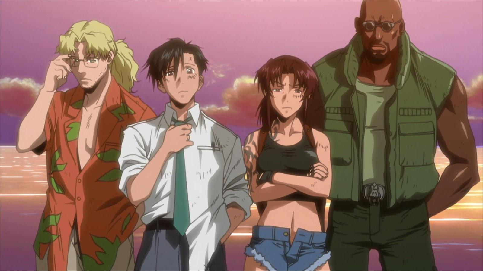 Kết quả hình ảnh cho Black Lagoon anime