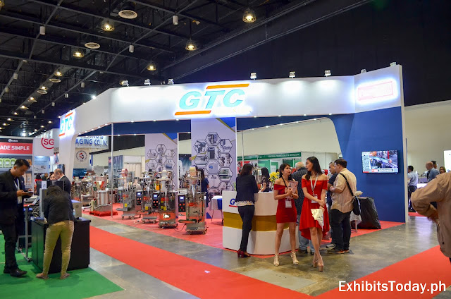 GTC tradeshow display