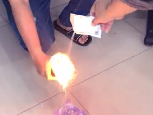 Kopi Luwak Dibakar