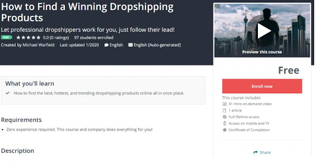 [100% Free] How to Find a Winning Dropshipping Products