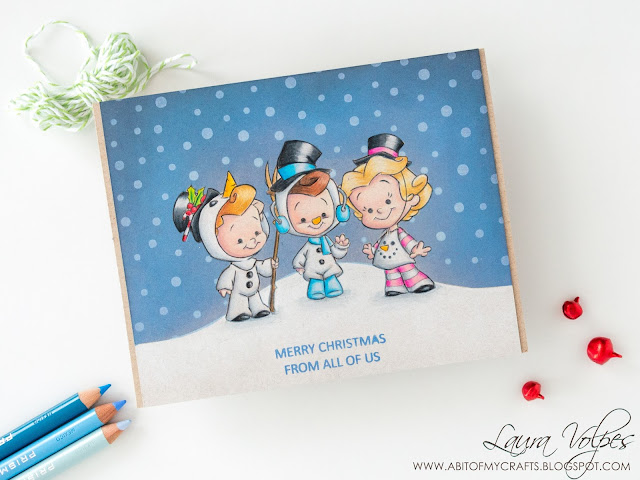 Christmas-card-CC-Designs-Robertos-Rascal-Snowmen-Kids