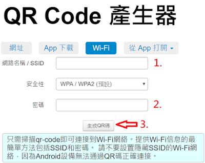 QR code產生器