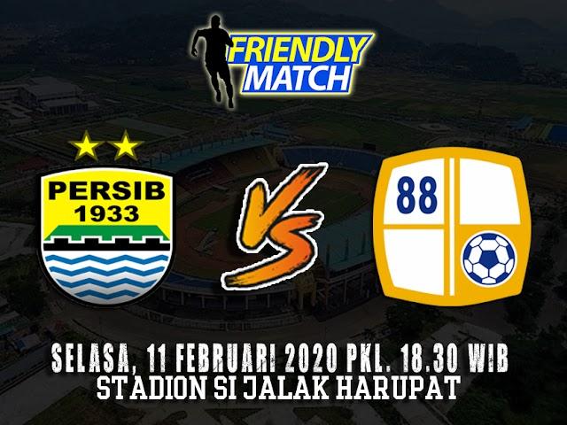 Ini Jadwal Pembelian dan Harga Tiket Friendly Match Persib VS Barito Putera