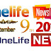 OneLife Newsletter, September 9th, 2019