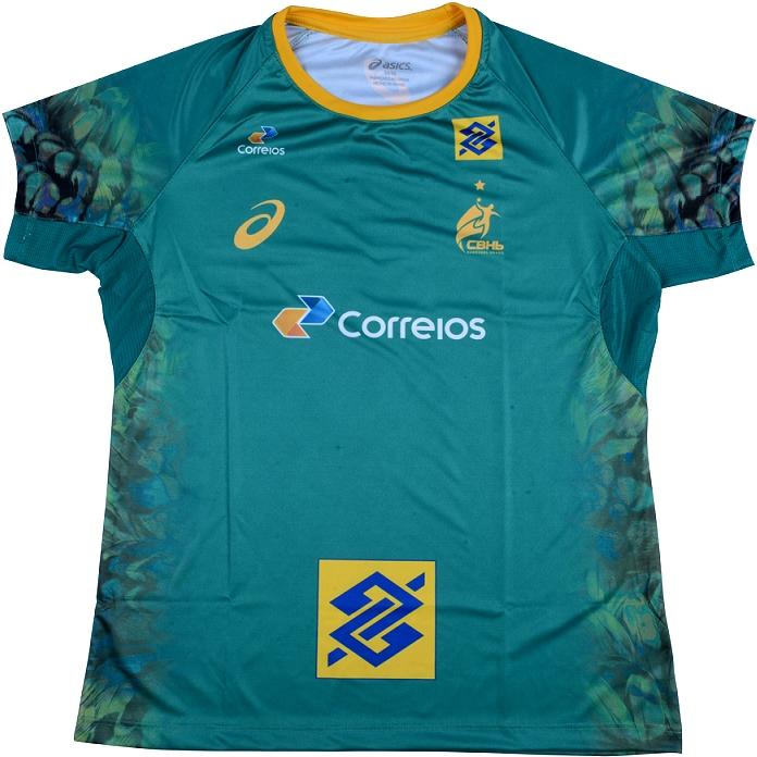 Asics lança as novas camisas da Seleção Brasileira de handball ... 56a1f842798a8