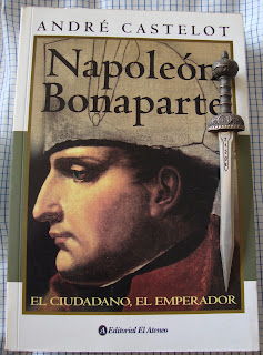 Portada del libro Napoleón Bonaparte. El ciudadano, el emperador, de André Castelot