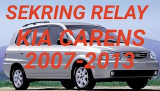 sekring dan relay KIA CARENS 2007-2013