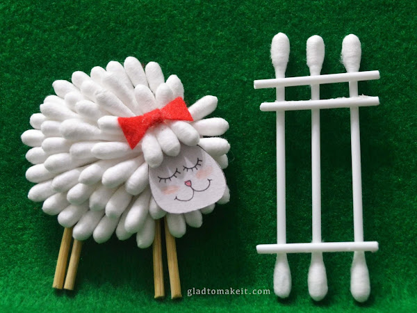 Domba dari Cotton Buds