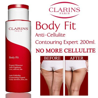 CLARINS BODY FIT Lotion Pembakar Lemak / Anti Selulit