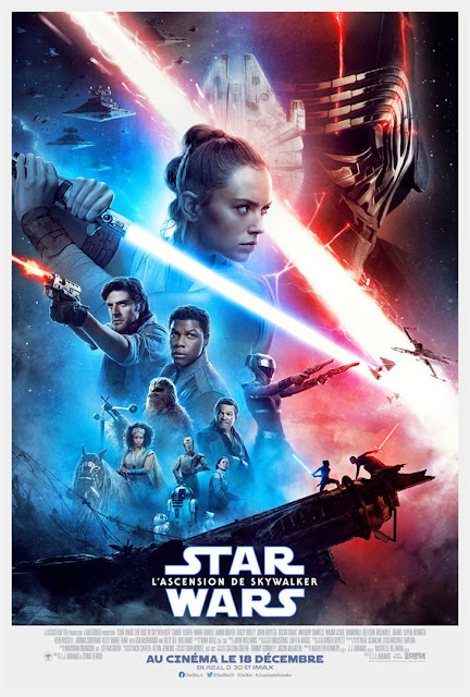 Film Star Wars L'Ascension de Skywalker L'Agenda Mensuel - Décembre 2019