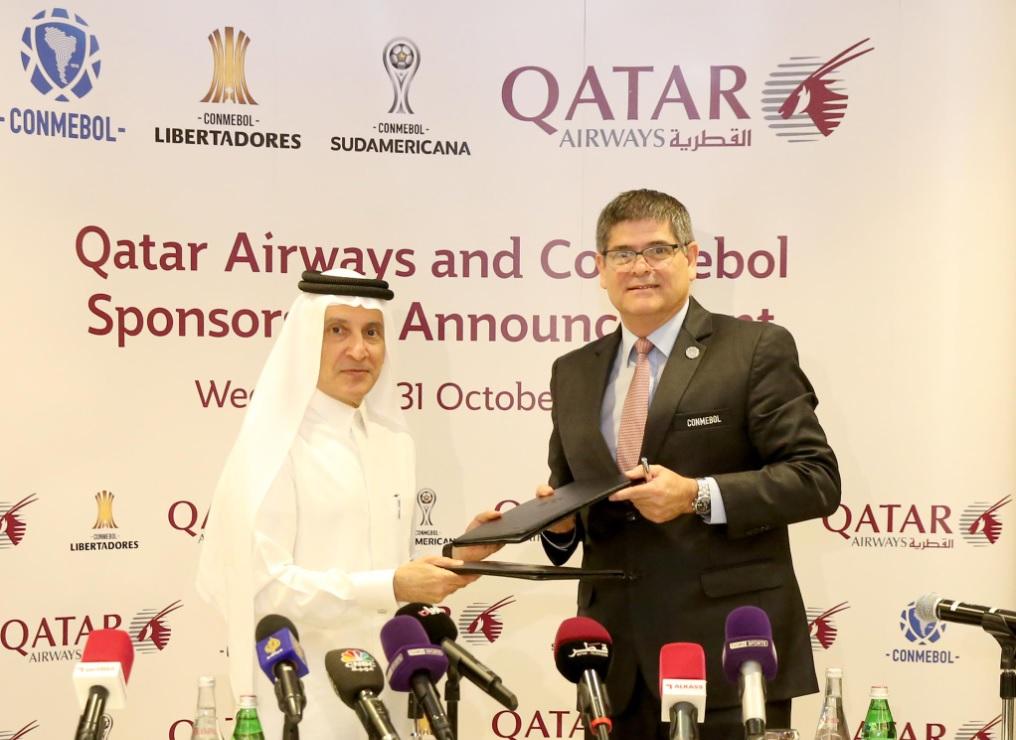Conmebol fecha patrocínio com Qatar Airways até 2022 ~ FutGestão 893f6542db77d