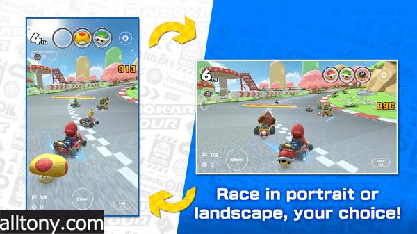 تحميل لعبة Mario Kart Tour ماريو كارت للأيفون والأندرويد