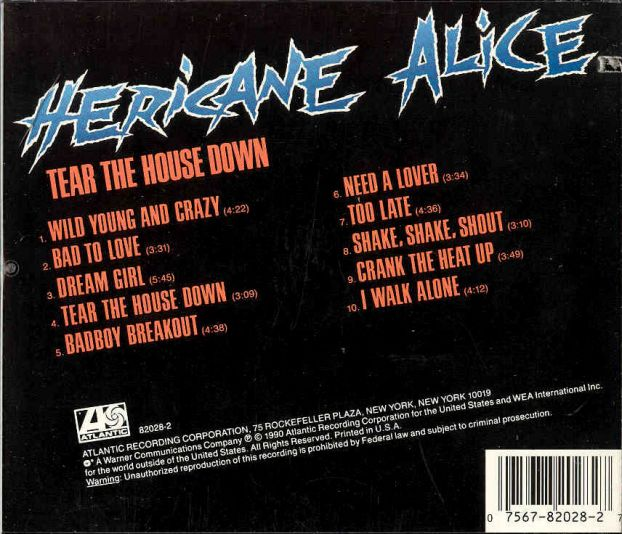 AOR Night Drive: HERICANE ALICE