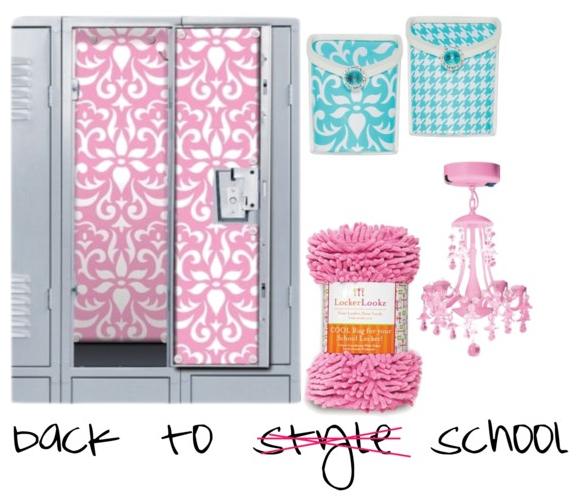 Locker Wallpaper Pink Damask Aqua White Bins Gy Rug Chandelier