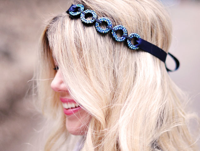 DIY pretty hair accessories, headband