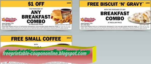 photo relating to Hardee's Printable Coupons named Printable hardees breakfast coupon codes