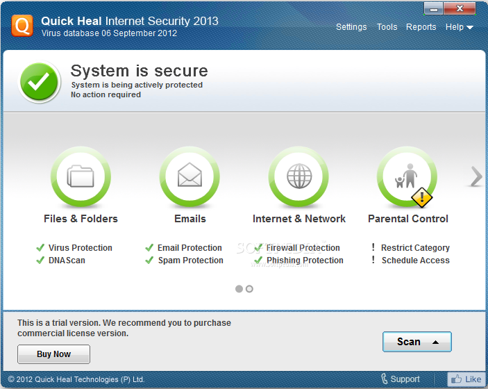 quick heal internet security download