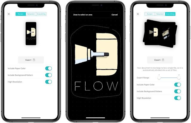 افضل تطبيق ايفون Flow by Moleskine