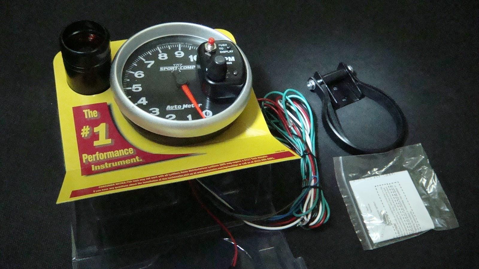 Autometer Sport Comp Tach Wiring Diagram 2003 Gas Club Car Myitems 5 39 Monster Rpm