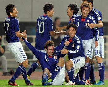 日本対タジキスタン