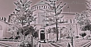 Ο ναός του Αποστόλου Παύλου στην Κόρινθο.