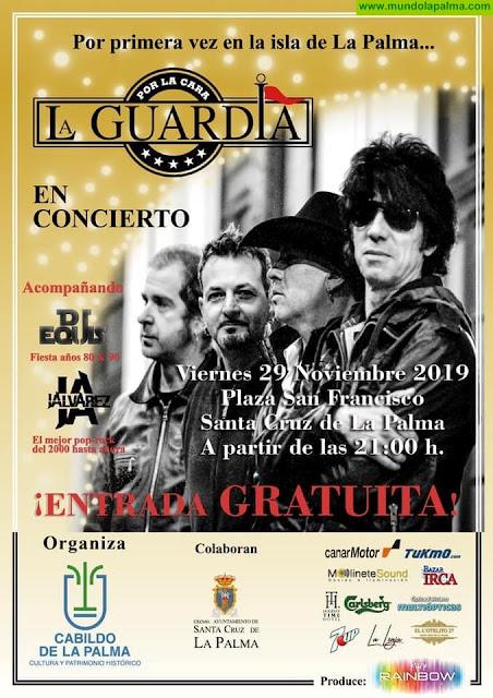 La Guardia en Concierto en Santa Cruz de La Palma