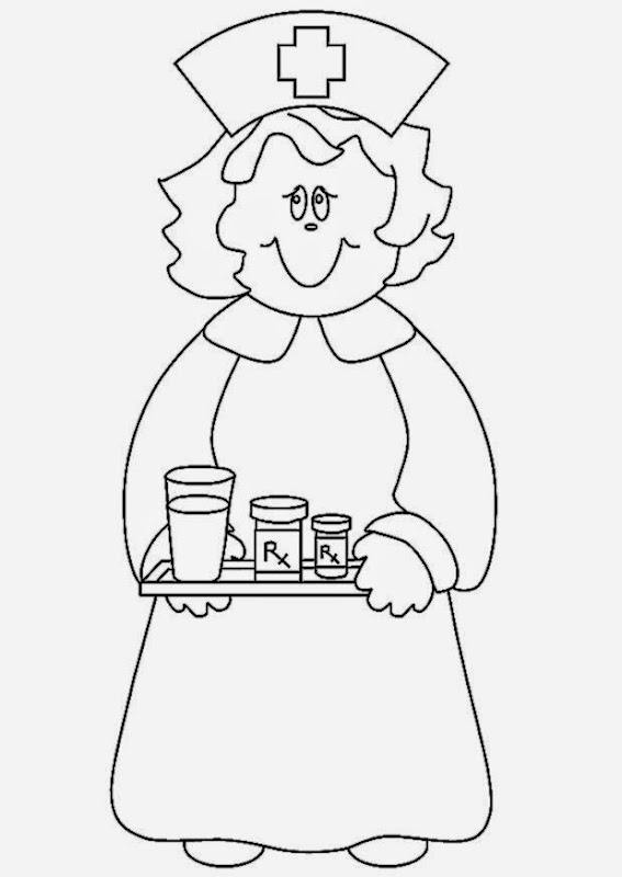 n for nurse shark coloring pages