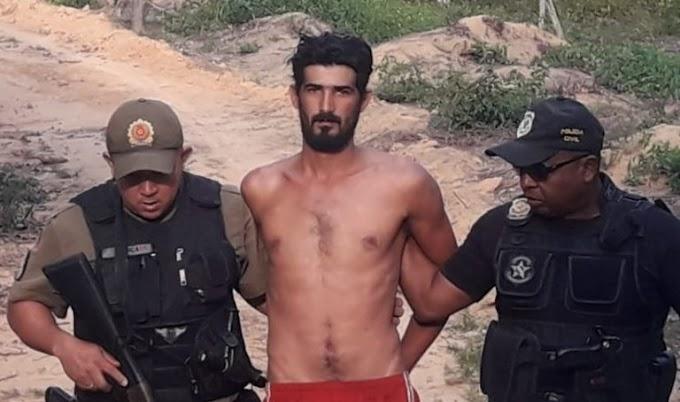 EM URUARÁ: ASSASSINO DO MENINO KAIKI É PRESO DURANTE OPERAÇÃO DAS POLICIAS CIVIL E MILITAR.
