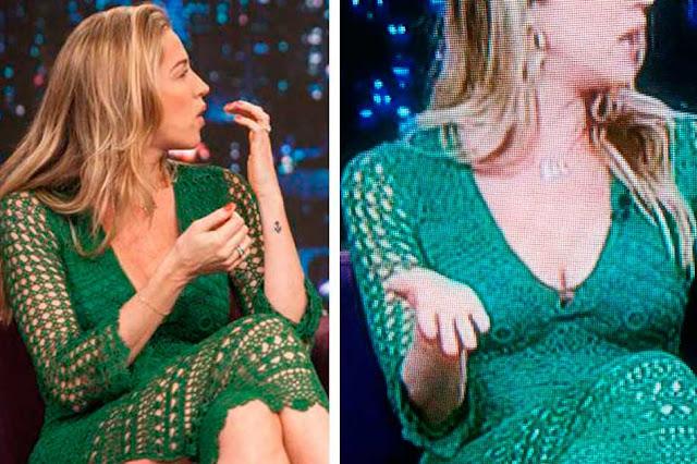 Luana Piovani vestido verde