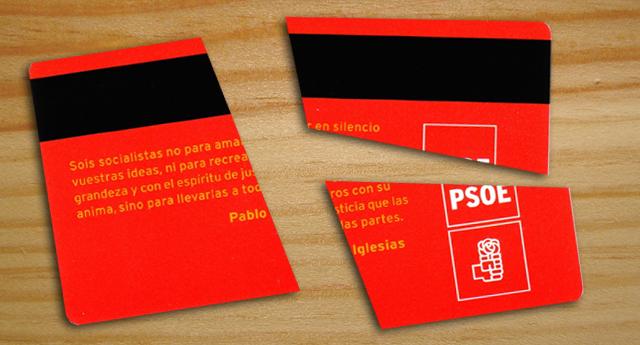 El PSOE ha perdido cerca de 40.000 militantes desde 2012