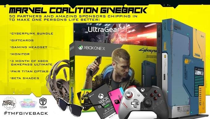 Sorteio do Xbox One X Cyberpunk 2077 Limited Edition